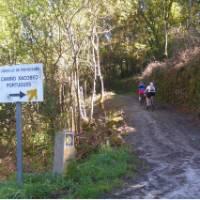 Biking the Camino in Portugal