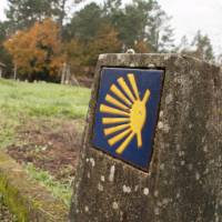 Signage on the Camino in Portugal