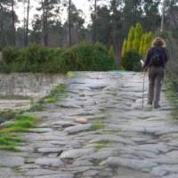 Hiking along the Portuguese Camino