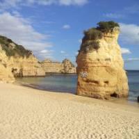 Typical Algarve coastal scenery
