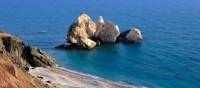 The rock formation of Petra tou Romiou, or Aphrodite's Rock, is considered the birthplace of Aphrodite |  <i>F. Cappallari</i>