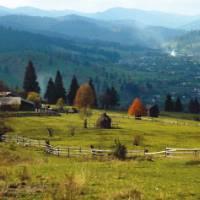 Bukovina in the Carpathian Mountains