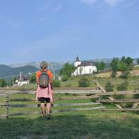 Admiring the view in Romania's Piatra Craiului National Park | Lilly Donkers