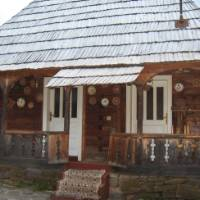 A traditional house in Maramures, Romania