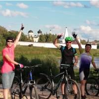 Cycling along the Volga