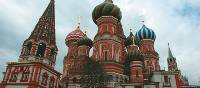 We visit St Basil's Cathedral, built by Ivan the Terrible in the 16th century, in Moscow's Red Square on our Trans Siberian adventure from Beijing to St Petersburg. |  <i>Rachel Imber</i>