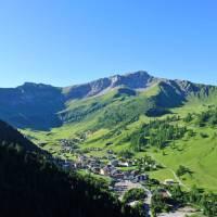 The beautiful village of Steg sits in the valley below Schoenberg peak | Liechtenstein Marketing
