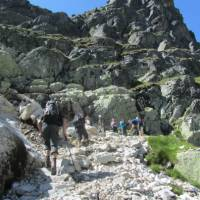 Trekking in Slovakia's High Tatra Mountains is a great challenge for those seeking one