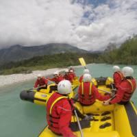 Rafting the Soca River