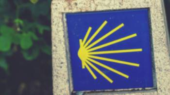 Decorative signage along the Camino | @timcharody