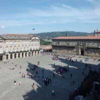 Santiago cathedral and parador | Dana Garofani