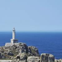 A lighthouse on the Lighthouse Way in Spain