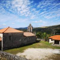 Medieval church in Spain along the Camino Sanabres