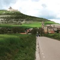 Leaving the vibrant Santiago de Compostela along the Camino Trail   Edwina Parsons