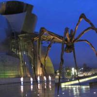 The magnificent Guggenheim Museum in Bilbao on the Camino Norte self guided walk | Andreas Holland