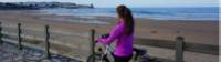 Cycling along beaches of the Costa Verde