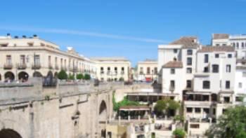 The impressive Puente Nuevo bridge in Ronda