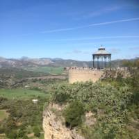 Viewpoint over the village of Ronda