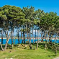 The beaches of Santander are a great place to relax at the end of your camino trip