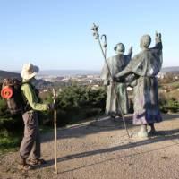 Enjoying the views on the Camino