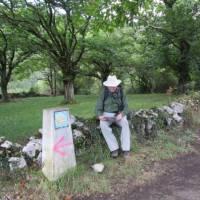Resting on the Camino Primitivo