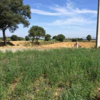 cyclist in rural Catalonia en route to the Costa Brava on a self guided cycling trip | Kate Baker