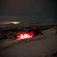 Abisko Aurora Sky Station at night | Ross Baker