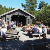 Lunch spot on Fjärdlång Island | Kathy Kostos