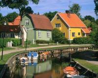 Discover Sweden's colourful villages