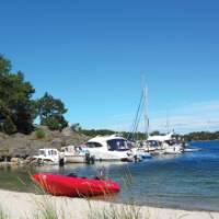Sunshine on the beach fronts of Nåttarö and Ålö Islands | Kathy Kostos