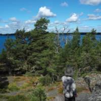 Hiking the nature reserve at Stendörren