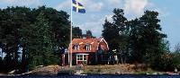 Traditional house in archipelago