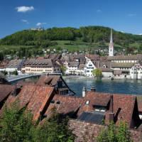 Stein am Rhein on the Swiss side of Lake Constance