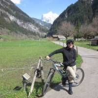 Cycling in stunning Jungfrau, Switzerland   Karena Noble