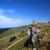 Hiking the stunning Jura mountains in Switzerland