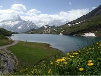 The stunning Lake Bachalpsee above Grindelwald |  <i>kate Baker</i>