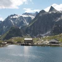 The delightful setting of the St Bernard Pass | Kate Baker