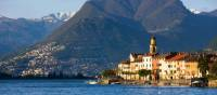 Lake Lugano in the Ticino canton, with  Mt Bre and Mt Boglia (1516m) in the distance | Roland Gerth