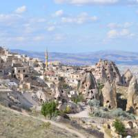 A small town in the rocks of Cappadocia   Erin Williams