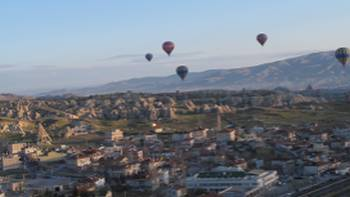 Early morning balloon ride above Cappadocia | Ross Baker