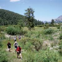Walking in the Cirali region of Turkey