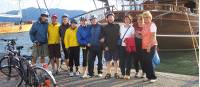Cycle group on Lycian Coast Cycle and Sail