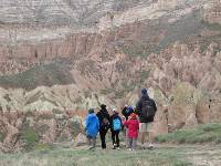 Family group in Rose Valley Cappadocia |  <i>Kate Baker</i>
