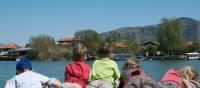 Kids on boat at Dalyan on the Lycian Coast of Turkey | Kate Baker