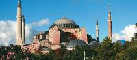 The Hagia Sofia, possibly the most famous of all Byzantine structures, has adorned Istanbul's skyline since the 6th Century | Ian Williams