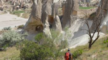 Walker in Cappadocia | Erin Williams