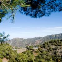 Enjoy walks in the Troodos Mountains in summer or winter