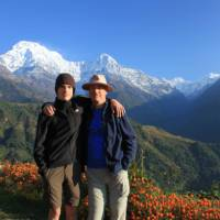 Father and son at Ghandruk   Brad Atwal