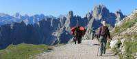 Walking in the stunning Dolomites |  <i>Jaclyn Lofts</i>