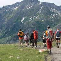 Mont Blanc Circuit Family Walk   Kate Baker
